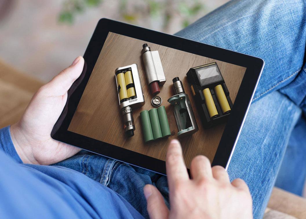 Boutiques-en-ligne d'e-cigarettes